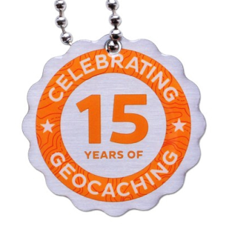 15 Jahre Geocaching, Travel Tag