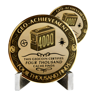 Groundspeak 4000 - Geo-Achievement Award