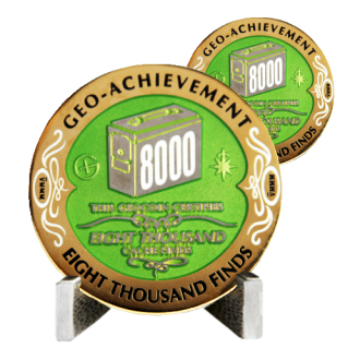 Groundspeak 8000 - Geo-Achievement Award