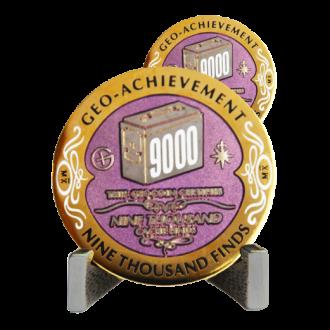 Groundspeak 9000 - Geo-Achievement Award
