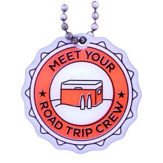Meet your Road Trip Crew, Travel Tag