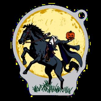 Schwarzer Reiter, Halloween Travel Tag