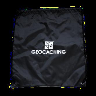Groundspeak Geocaching Logo Tasche - schwarz