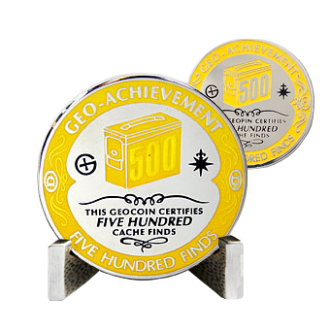 Groundspeak 500 - Geo-Achievement Award