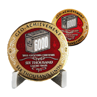 Groundspeak 6000 - Geo-Achievement Award