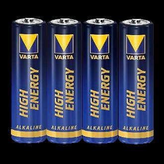 """4x Varta Batterie """"High Energy"""" AA (Mignon) Alkaline, 1,5V"""