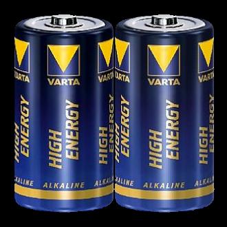 """2x Varta Batterie """"High Energy"""" C (Babyzelle) Alkaline, 1,5V"""
