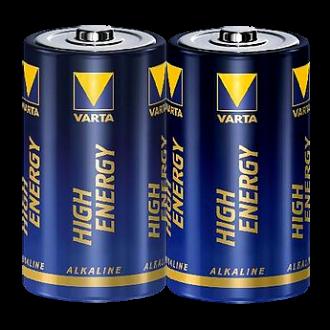 """2x Varta Batterie """"High Energy"""" D (Monozelle) Alkaline, 1,5V"""