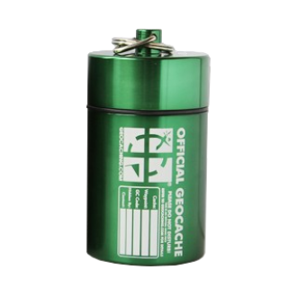 "Groundspeak ""Mighty Mega"" Cache Behälter, grün"
