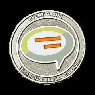 Event-Cache, Icon Geocoin - klassisch