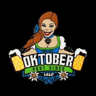 "Groundspeak ""Oktoberfest"" Geocoin (Annie)"