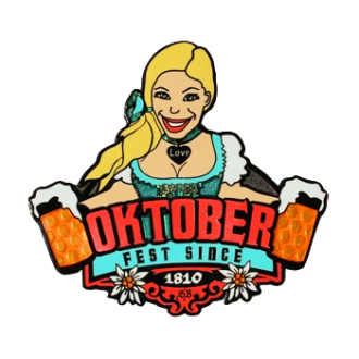 "Groundspeak ""Oktoberfest"" Geocoin (Christy)"