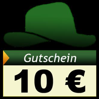 Adventure-Caching Geschenkgutschein, EUR 10,00