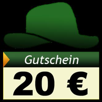 Adventure-Caching Geschenkgutschein, EUR 20,00