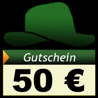 Adventure-Caching Geschenkgutschein, EUR 50,00