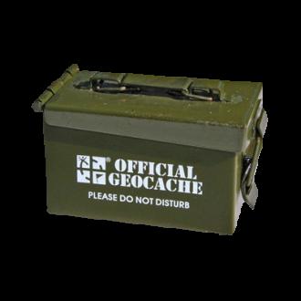 Groundspeak Geocaching MIKRO-Munitions-Behälter, grün