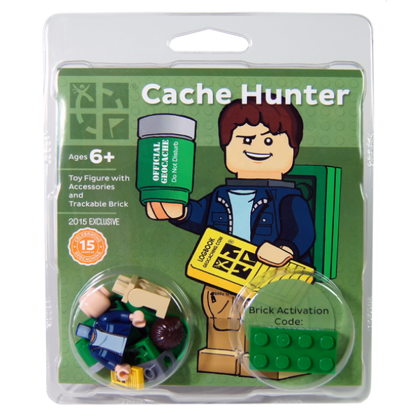 lego geocacher mit tackable legostein adventure caching. Black Bedroom Furniture Sets. Home Design Ideas