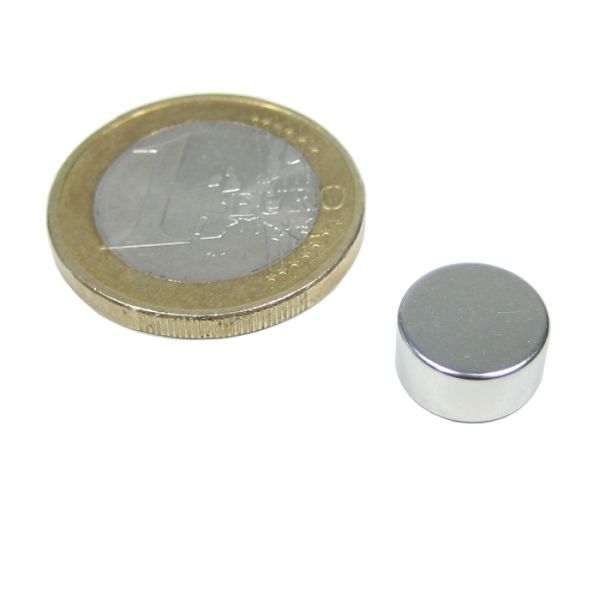 neodym magnet scheibe durchmesser 10 x 5 mm vernickelt magnete cache zubeh r adventure. Black Bedroom Furniture Sets. Home Design Ideas