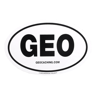 "Groundspeak Auto-Sticker ""GEO"""