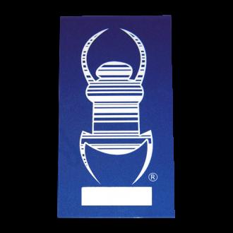 Travelbug Statik-Folie für Glasscheiben innen