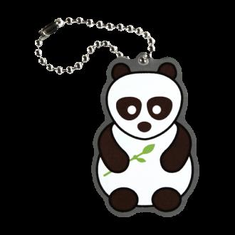 Panda Cache Buddy, schwarz-weiß