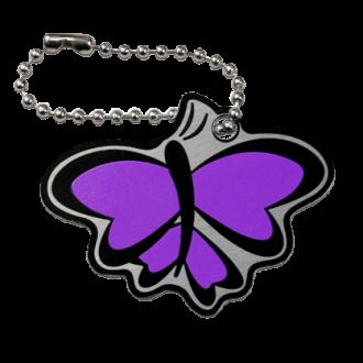 Butterfly Cachekinz, Schmetterling, violett