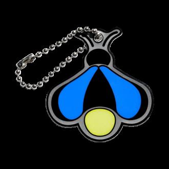Firefly Cachekinz, Glühwürmchen, blau, NACHLEUCHTEND