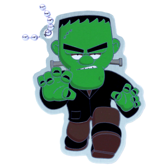 Fenton Frankenstein, Halloween Travel Tag