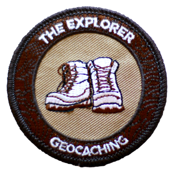 "7SofA Patch ""The Explorer"" - Der Forscher, Aufnäher"