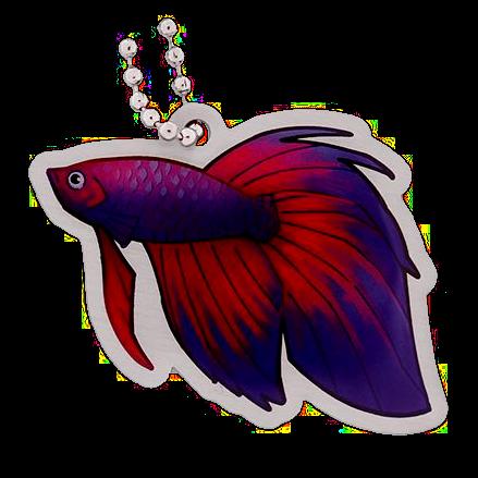 Betta the Fish,Travel Tag