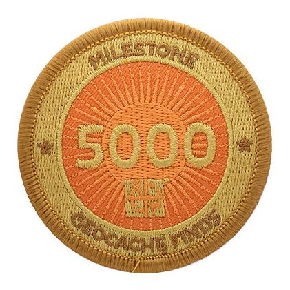 Milestone Patch - 5000 Finds