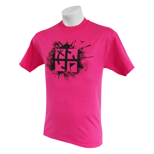 T Shirt Cache Attack pink