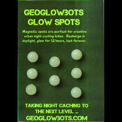 GeoGlowBots, magnetische Glüh-Halbkugeln, Set