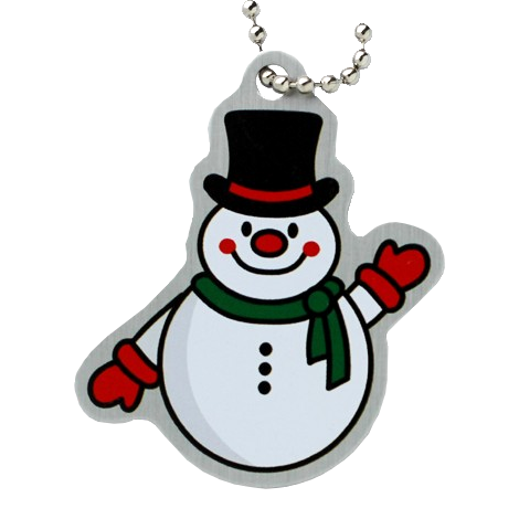 Traveltag snowman