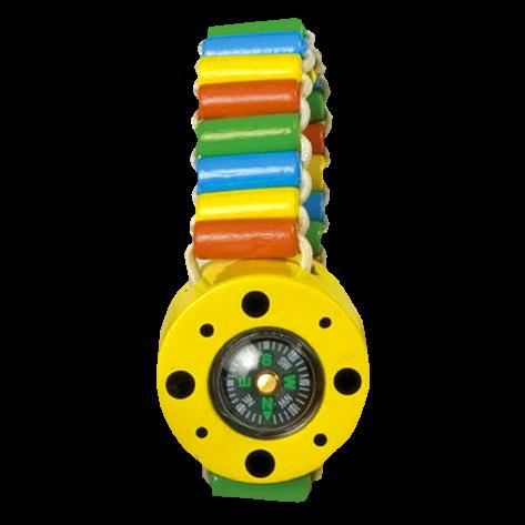 "Kinder-Armband ""Kompass"", gelb"