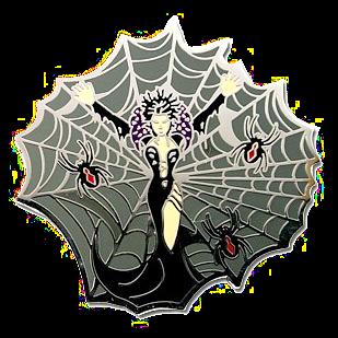 Schwarze Witwe, Halloween Geocoin