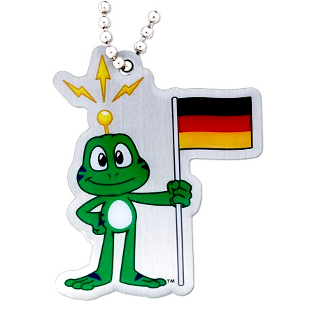 Signal the Frog® Traveltag, Deutschland