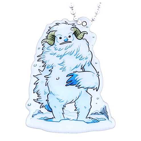 Hidden Creatures Travel Tag, Yeti