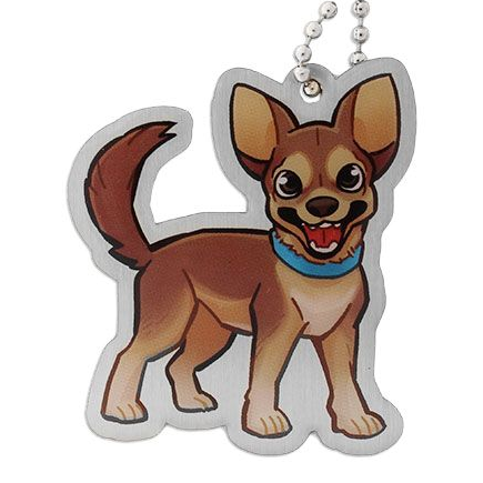Mani the Chihuahua, Travel Tag