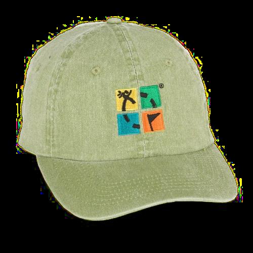 Logo hat khaki