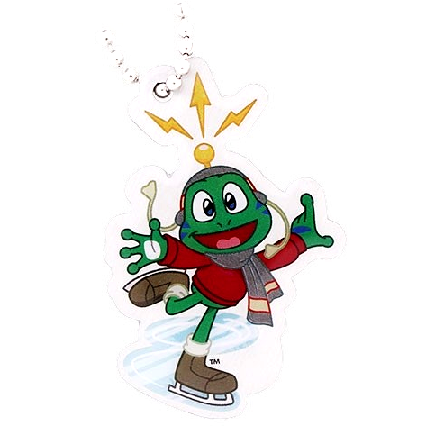Signal the Frog® Wintersport Travel Tag, Schlittschuh