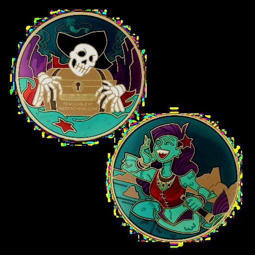 Siren Song, Piraten Geocoin
