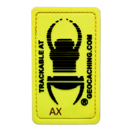 "Travel Bug® ""Glow In The Dark"", trackable Patch"