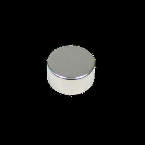 Neodym Magnet Scheibe, Durchmesser 10 x 4 mm, vernickelt