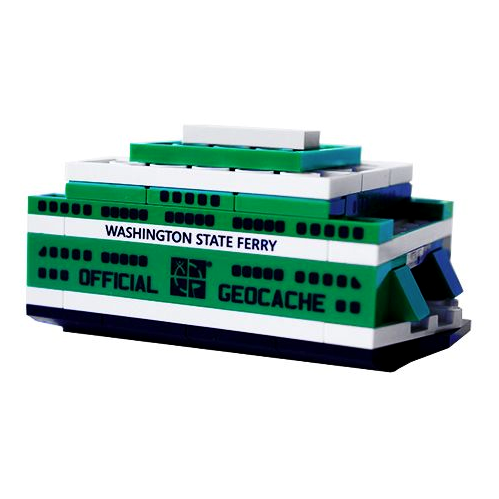Bau eine Washington State Ferry, LEGO®-kompatibel