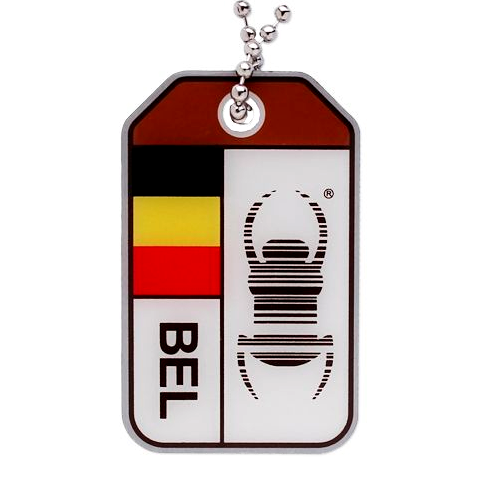 Travel Bug® Origins- Belgien