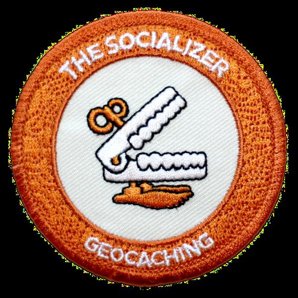 "7SofA Patch ""The Socializer"" - Der Gesellschaftsmensch, Aufnäher"