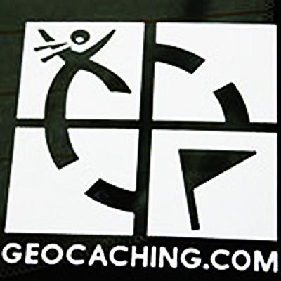 Geocaching logo aufkleber gestanzt adventure caching for Durchsichtige klebefolie
