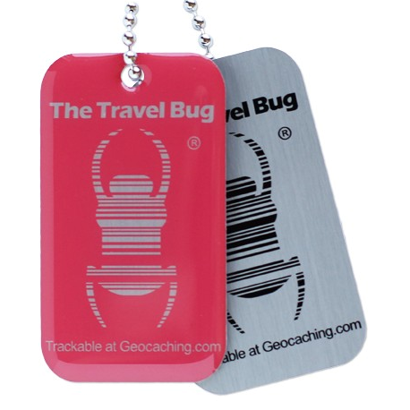 QR-Travel Bug®, Pink