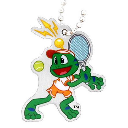 Signal the Frog® Sommer Sport Travel Tag - Tennis